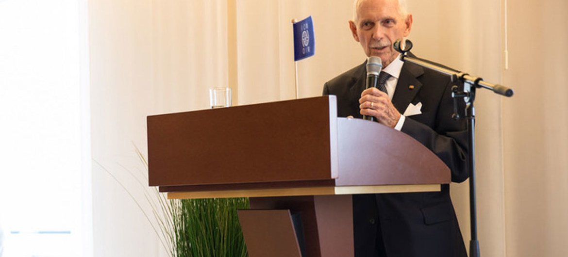 IOM Director-General William Lacy Swing.