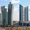 哈萨克斯坦首都阿斯塔纳。
