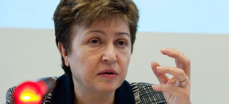 国际货币基金组织总裁格奥尔基耶娃
