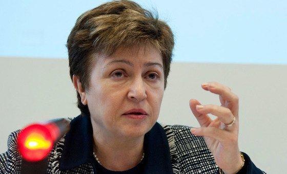 Chefe do FMI apontou que as pessoas devem estar no centro das políticas e que a pandemia expôs a importância de sistemas de saúde fortes