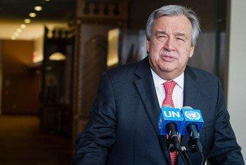 Будущий Генеральный секретарь ООН Антониу Гутерриш Фото ООН/Мануэль Элиас