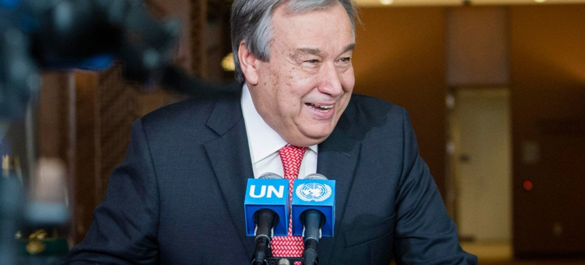 António Guterres of Portugal.