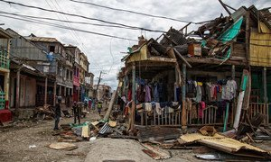 Madhara ya kimbunga Matthew nchini Haiti