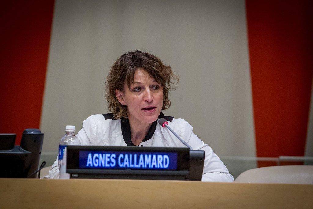 联合国法外处决、草率即决或任意处决问题特别报告员卡拉马德。