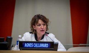 Agnes Callamard, UN Special Rapporteur on extrajudicial, summary or arbitrary executions.