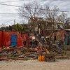 Labores de limpieza en Haití tras el paso del huracán Matthew. Foto: Logan Abass/MINUSTAH