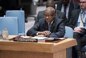 秘书长刚果(金)问题特别代表兼联合国驻刚果(金)稳定特派团团长西迪库资料图片。联合国图片/Kim Haughton