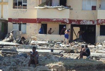 El PMA y el Gobierno cubano distribuyen ayuda alimentaria en la provincia cubana de Guantánamo. Foto : PMA Cuba