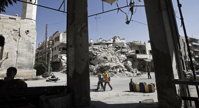 Four children killed on their way to school in northwest Syria