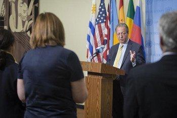 Le Conseiller spécial du Secrétaire général pour la prévention des conflits, Jamal Benomar. (archives). Photo ONU/Manuel Elias