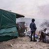 Más de 6.000 personas vivían en el campamento de refugiados de Calais. Foto de archivo: ACNUR/Corentin Fohlen