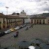 As manifestações começaram em Quito, capital do Equador.