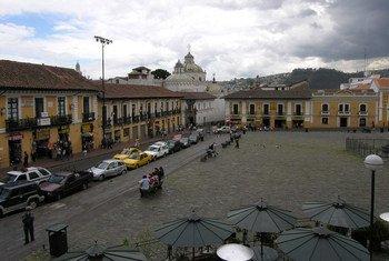 Imagen de la ciudad de Quito, capital de Ecuador. Foto: UNESCO/Francesco Bandarin