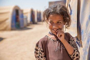Девочка, бежавшая из города Мосула, Ирак. Фото ЮНИСЕФ