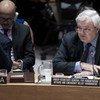 Stephen O´Brien, coordinador de Asuntos Humanitarios, en el Consejo de Seguridad de la ONU. Foto de archivo: ONU/Kim Haughton