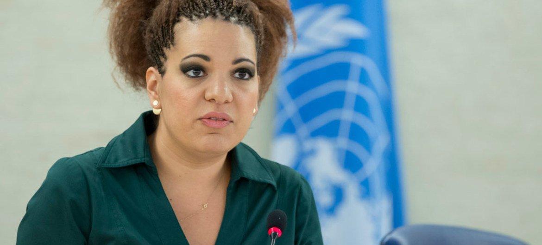 Rita Izsák-Ndiaye, UN Special Rapporteur on minority issues.
