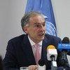 Jean Arnault, fue jefe de la Misión de la ONU en Colombia y ahora es el enviado especial del Secretario General de la ONU en Bolivia.