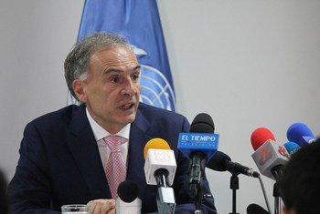 رئيس بعثة الأمم المتحدة في كولومبيا، جان أرنو.