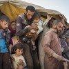摩苏尔军事攻势导致大批伊拉克平民逃亡。难民署/Ivor Prickett