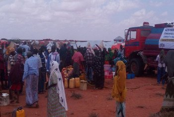 Humanitarian partners in Somalia are scaling up response to displaced people after violence broke out in Gaalkacyo on 7 October 2016.