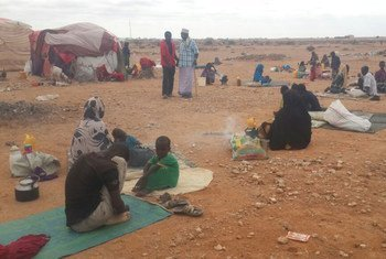 雨季来临,加勒卡约难民寻求避难所/OCHA/Guled Isse