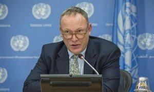 Le Rapporteur spécial des Nations Unies sur les droits de l'homme et la lutte contre le terrorisme, Ben Emmerson. Photo ONU/Cia Pak