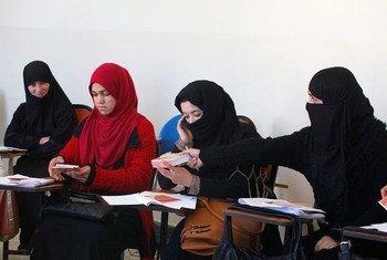 Des femmes en Afghanistan. Photo MANUA/Sayed Mohammad Shah