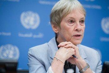 Karen AbuZayd, asesora especial de la ONU para la Cumbre sobre Refugiados y Migrantes.