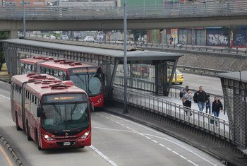 Автостанция в Боготе, Колумбия Фото Всемирного банка/Доминик Чавес