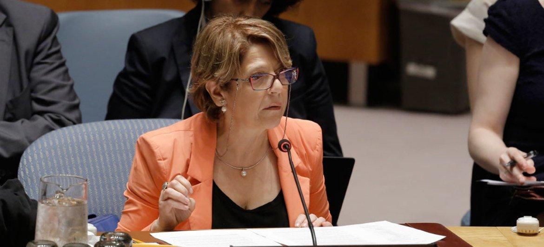 UN Special Rapporteur on trafficking in persons, Maria Grazia Giammarinaro.