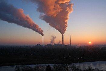 Las concentraciones promedio mundiales de dióxido de carbono (CO2) alcanzaron 405,5 partes por millón (ppm) en 2017.