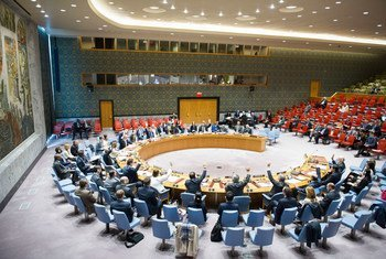 The Security Council unanimously adopts resolution 2315 (2016), renewing authorization for the European Union-led multinational stabilization force in Bosnia and Herzegovina, known as EUFOR ALTHEA, for a further 12 months.