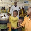 Children conduct a science experiment in a classroom in Harar, Ethiopia. (File)