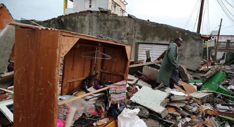 Los Estados insulares del Caribe son más propensos a sufrir las consecuencias de los desastres naturales impulsados por el cambio climático. Foto de archivo: PNUD