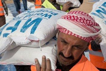 Le Programme alimentaire mondial des Nations Unies (PAM) s'efforce d'atteindre les personnes affectées par la crise à Mossoul, en Iraq.