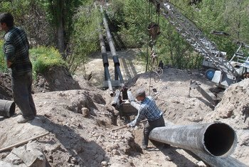 Нефтепровод. Фото Всемирного банка