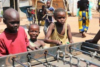 Дети в Центральноафриканской Республике Фото ЮНИСЕФ/Донэг Ле Ду