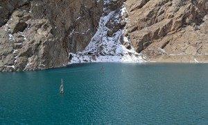 Изменение   климата  затрагивает  жителей горных районов.  Фото  Управления ООН  по координации гуманитарных вопросов /М Садвакассова