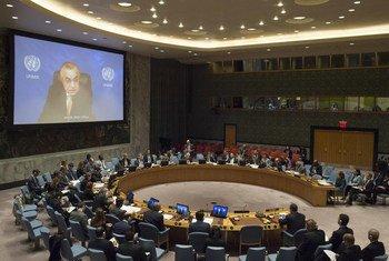 Специальный представитель Генерального секретаря ООН по Косово Захир Танин выступает в четверг перед членами Совета Безопасности