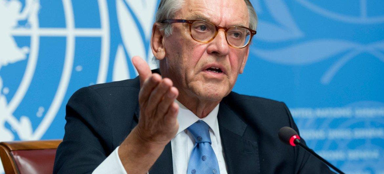 Le Vice-Secrétaire général de l'ONU, Jan Eliasson. Photo ONU/Jean-Marc Ferré