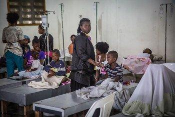 Haití lucha contra el Cólera desde el 2010. Foto: UNICEF/Maxence Bradley