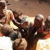 Des enfants réfugiés vivant au Tchad.