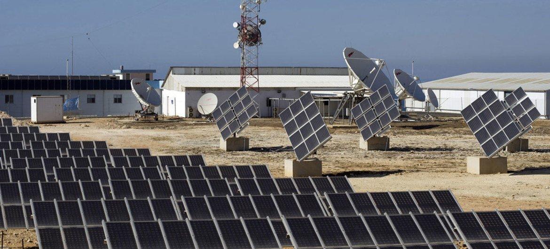 Cистема солнечного энергоснабжения в Ливане