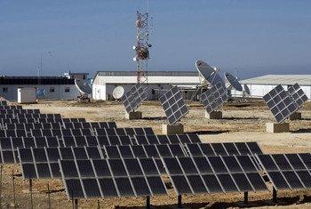 Временные силы ООН в Ливане  представили новую  систему  солнечной энергии. Фото сил ООН в Ливане