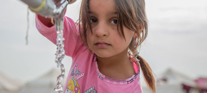 Dois-terços da população global enfrentam escassez severa de água. Foto: Unicef/Anmar