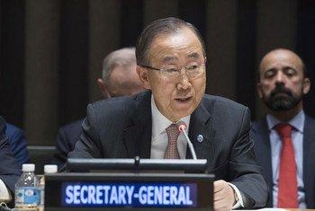 Пан Ги Мун Фото ООН/Эскиндер Дебебе
