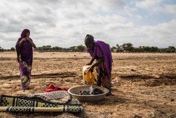 El agravamiento de la sequía ha dejado a cientos de miles de somalíes sufriendo escasez de agua y comida. Foto: OCHA Somalia