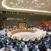 General view of the Security Council meeting on the situation in Liberia.