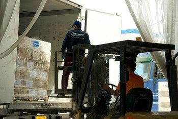WHO has delivered 10 emergency health kits to Al-Zahraa Center in newly-accessible areas of Mosul, Iraq, sufficient for several thousand people for 3 months.