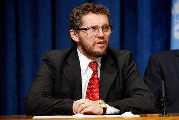 Fabián Salvioli, Rapporteur spécial sur la promotion de la vérité, de la justice, de la réparation et des garanties de non-récurrence.